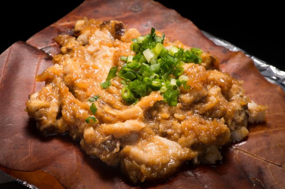 朴葉味噌焼き